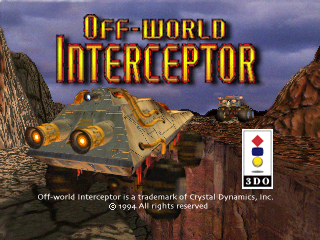 Screenshot Thumbnail / Media File 1 for Off-World Interceptor (1994)(Crystal Dynamics)(Eu)[!][3DRM1241330 1]